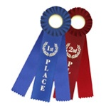 Award Ribbons Triple Streamer