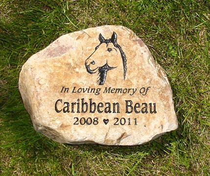 Horse pet grave markers horse memorial stones and horse garden stones write a review workwithnaturefo