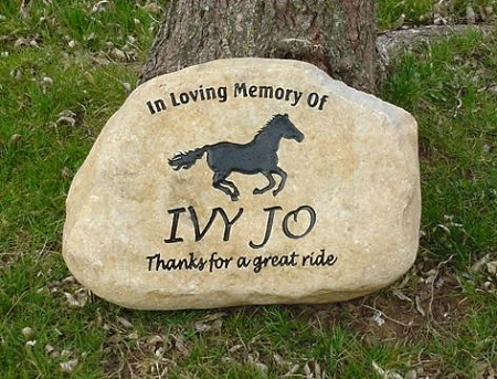 Remembrance Stones Garden Horse garden stones horse memorial grave markers and horse pet horse pet memorial grave marker garden stone 13 15 workwithnaturefo