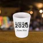 Class of 2020 Personalized Shot Glass