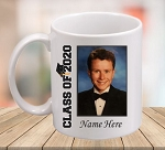 Class of 2020 Personalized Photo Coffee Mug