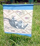 Personalized Custom Photo Printed Pet Garden Yard Entrance Flag