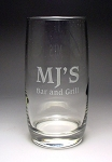 Meridian Beverage Tumbler Bar Glass 13 oz