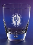 Fascination On The Rocks Bar Glass  11 oz