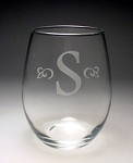 Trendsetter Stemless Wine Glass 15 oz