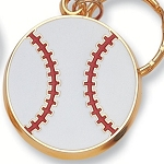 BASEBALL Die Cast Key Chain