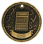 Math Award Medal