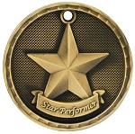 Star Performer Award Medal