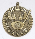 Golf Five Star Series Medal