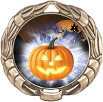 Holiday Halloween Award Medal
