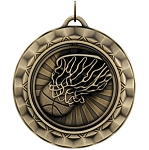 BASKETBALL Spinning Medal