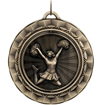 CHEERLEADING Spinning Medal