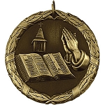 Church Bible Religion Award Medal