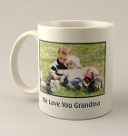 Photo Printed Ceramic Coffee Mug 11 oz