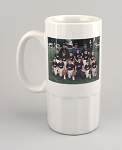 Ceramic Stein 16 oz Personalized with your photo or logo