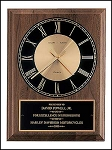 American Walnut Vertical Wall Clock 8 x 10