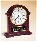 Napoleon Clock Mahogany finish