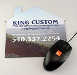 Mouse Pad House Shaped