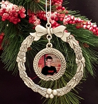 Wreath Pewter Ornament