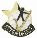 Attendance Academic Series Lapel Pin