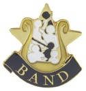 Band Academic Series Lapel Pin