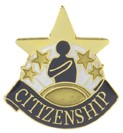 Citizenship Academic Series Lapel Pin