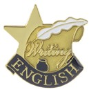 English Academic Series Lapel Pin
