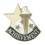 Achievement Academic Series Lapel Pin