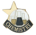 Chemistry Academic Series Lapel Pin
