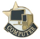 Computer Academic Series Lapel Pin