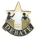 Debate Academic Series Lapel Pin
