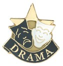 Drama Academic Series Lapel Pin