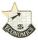 Economics Academic Series Lapel Pin