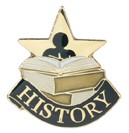 History Academic Series Lapel Pin
