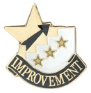 Improvement Academic Series Lapel Pin