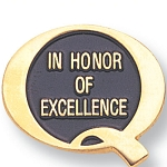 In Honor of Excellence Lapel Pin