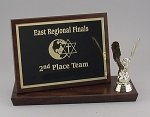 6x8 Billboard Trophy Plaque     Available in Cherry Woodgrain or Black Finish