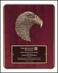 Rosewood Eagle Plaque 10x13
