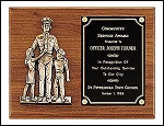 Police Officer Plaque 9x12