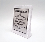 Sculpted Ice Acrylic Standing Plaque 4x5