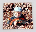 Custom Photo Printed Hardboard Square Shaped 25 piece Puzzle with keepsake case