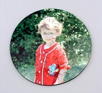Custom Photo Printed Hardboard Round Shaped 24 piece Puzzle with keepsake case