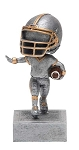 FOOTBALL Bobblehead Resin Award