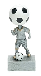 SOCCER Bobblehead Resin Award