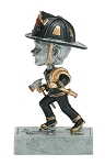 FIREMAN Bobblehead Resin Award