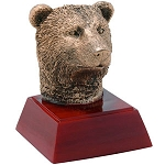 Bear Sculpture Resin Award