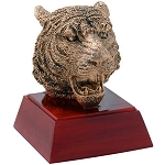 Tiger Sculpture Resin Award