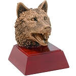 Wolf Sculpture Resin Award