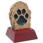 Paw Print Sculpture Resin