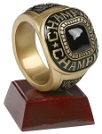 Championship Ring Resin Award